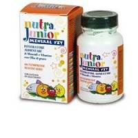NUTRA JUNIOR MINERALV 60CPR