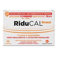 Riducal Grassi 30 cpr.
